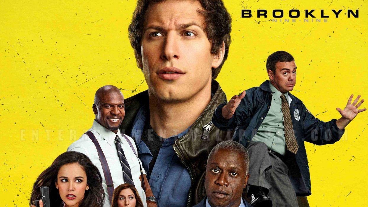 BROOKLYN NINE-NINE comedy crime series nine sitcom (54) wallpaper