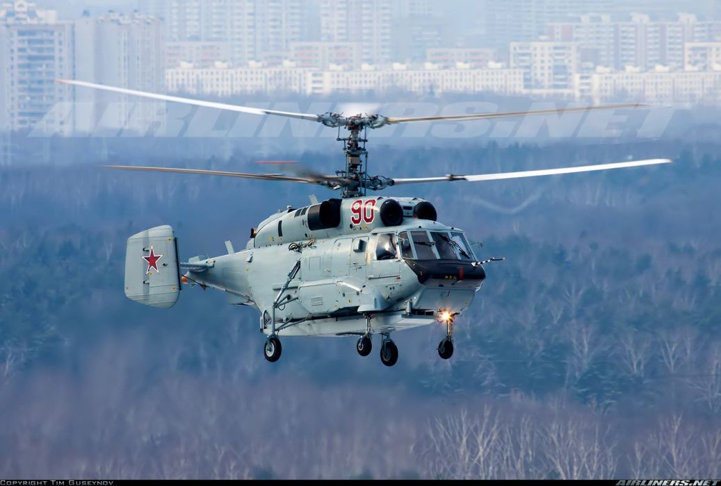 russian red star Russia helicopter aircraft Kamov Ka-31 military navy transport rescue wallpaper