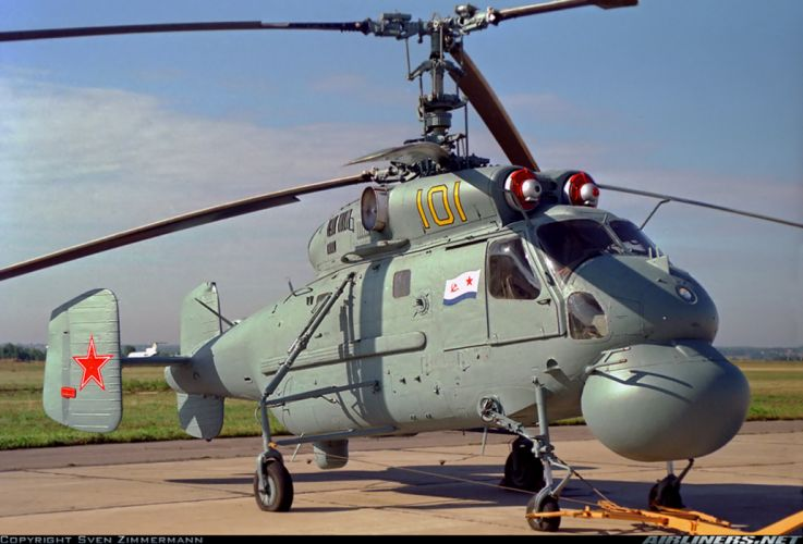 russian red star Russia helicopter aircraftKamov Ka-25PL military navy transport rescue wallpaper