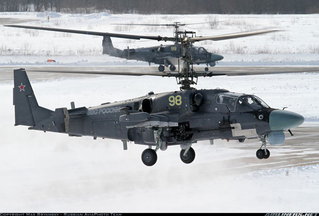 russian red star Russia helicopter aircraftKamov Ka-52 Alligator attack military army wallpaper