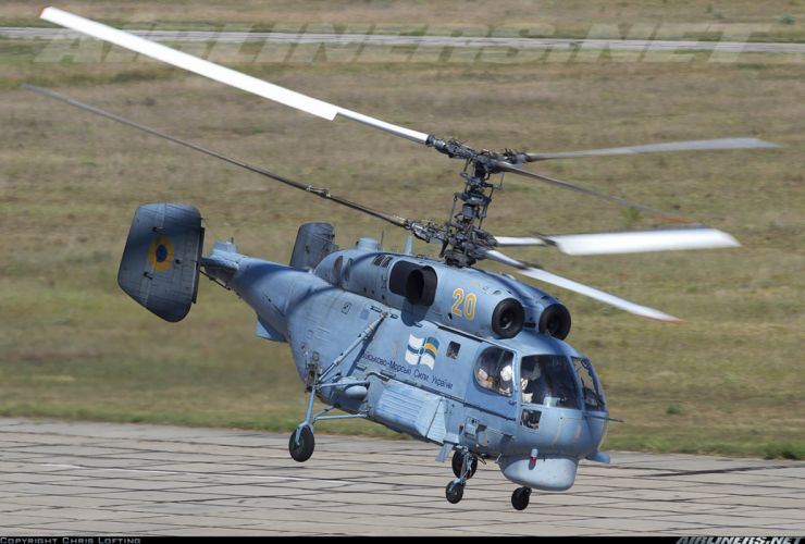 Ukraine helicopter aircraft Kamov Ka-27PL military navy transport rescue wallpaper