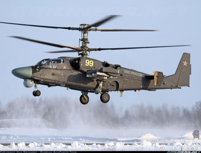 russian red star Russia helicopter aircraft Kamov Ka-52 Alligator attack military army wallpaper