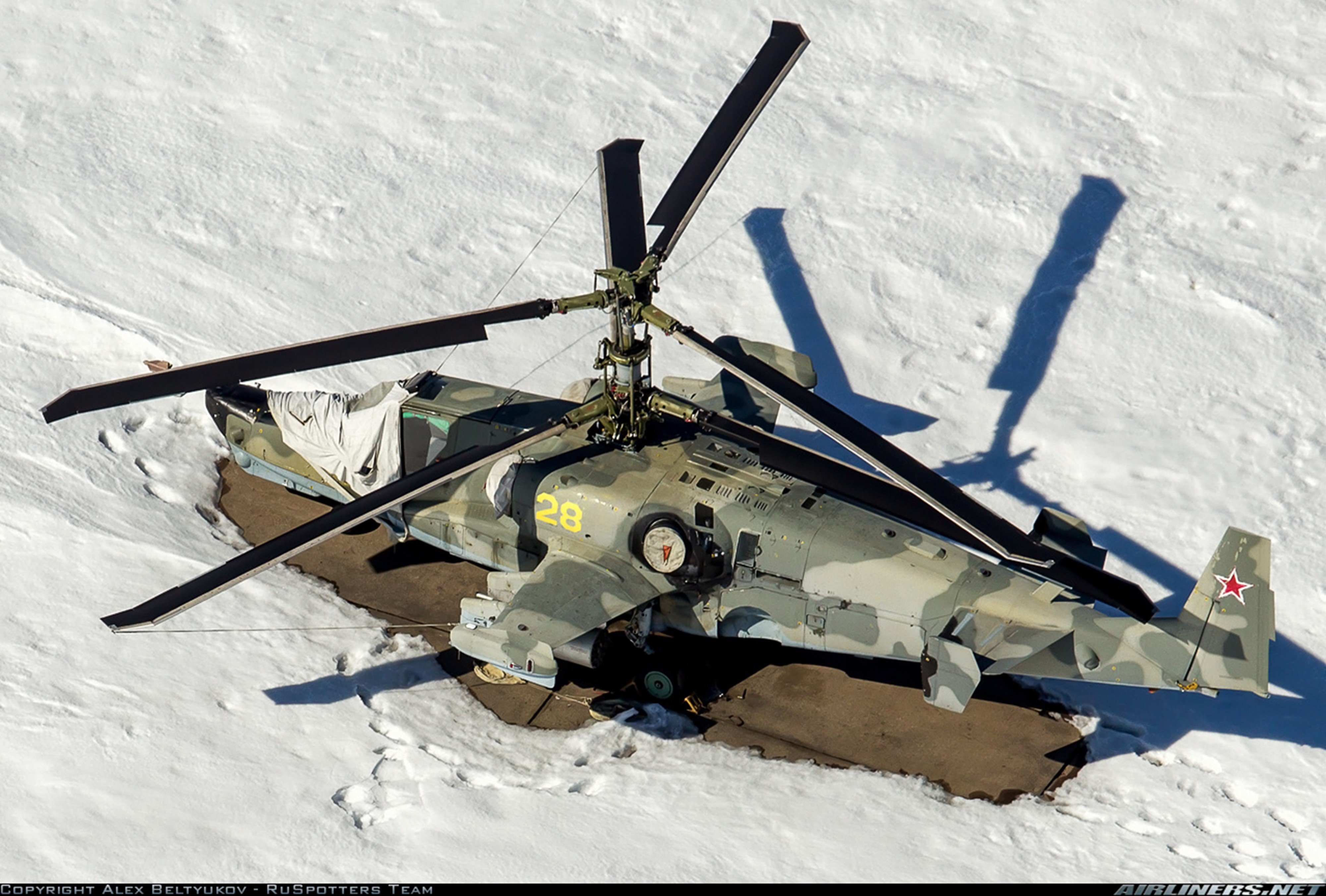 Russian red star Russia helicopter aircraft attack ...