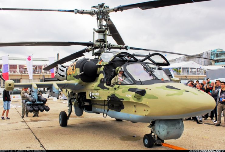 Kamov Ka-52 Alligator russian red star Russia helicopter aircraft attack military air-force wallpaper