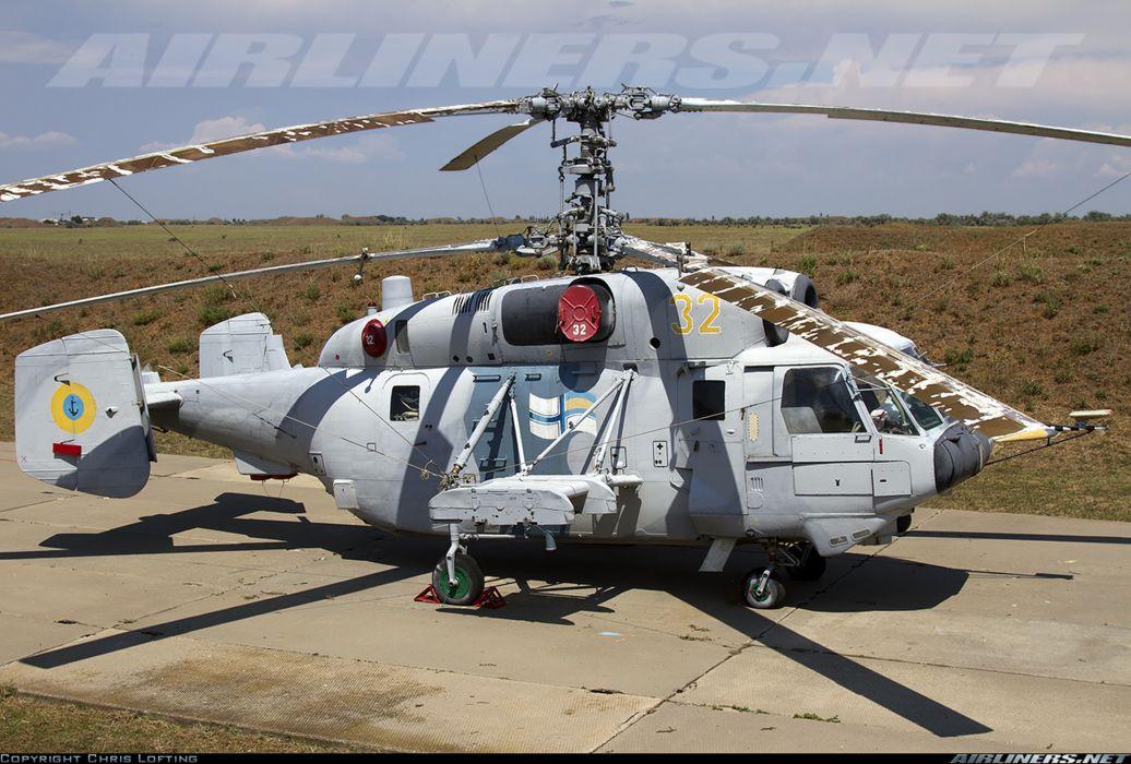 Ukraine navy helicopter aircraft military Kamov Ka-29 wallpaper
