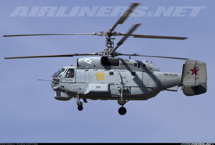 amov Ka-27PL russian red star Russia helicopter aircraft navy military wallpaper