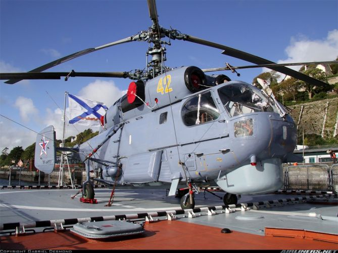 Kamov Ka-27PL russian red star Russia helicopter aircraft navy military wallpaper