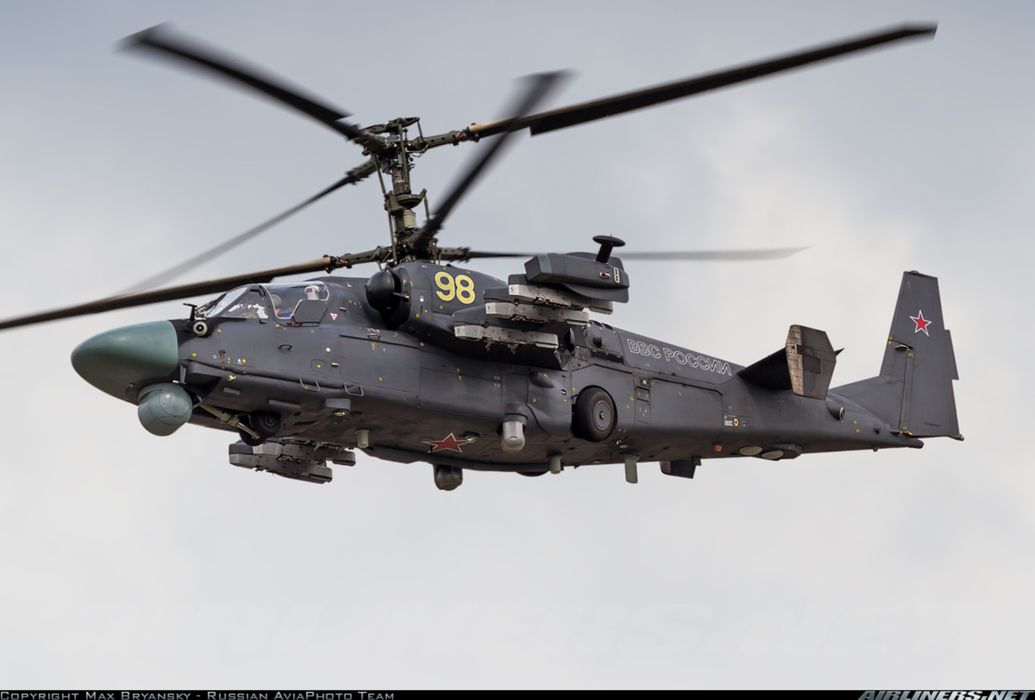 Kamov Ka-52 Alligator russian red star Russia helicopter aircraft attack military army  wallpaper