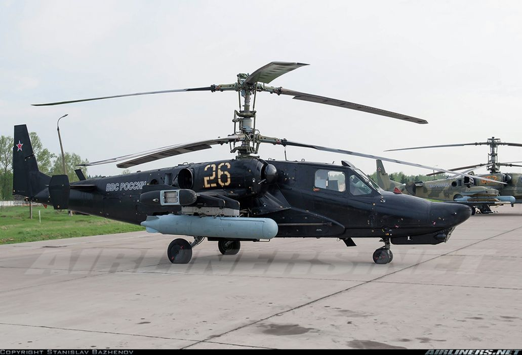 russian red star Russia helicopter aircraft attack military army Kamov Ka-50 Black Shark 4000x2716 wallpaper