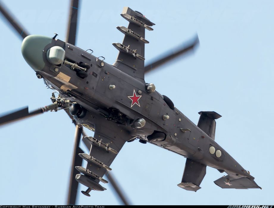russian red star Russia helicopter aircraft attack military army Kamov Ka-52 Alligator 3948x3000 wallpaper
