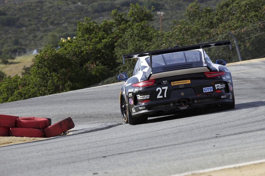 Race Car Supercar Racing Dempsey Racing Porsche 911-GT America 2 4000x2664 wallpaper
