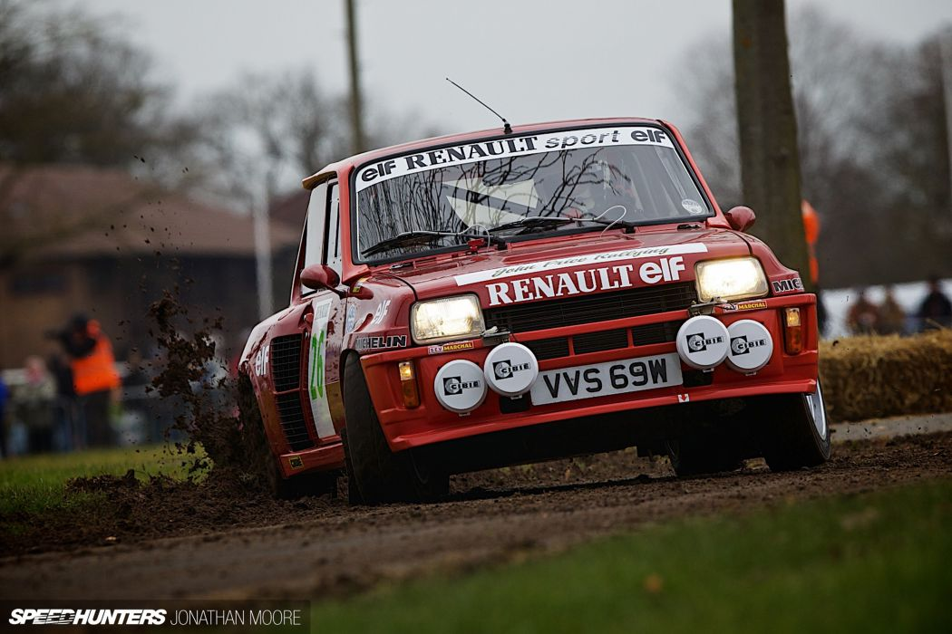 Rally Race Car Supercar Racing Classic Retro Renault-5 Turbo 4000x2667 Renault wallpaper