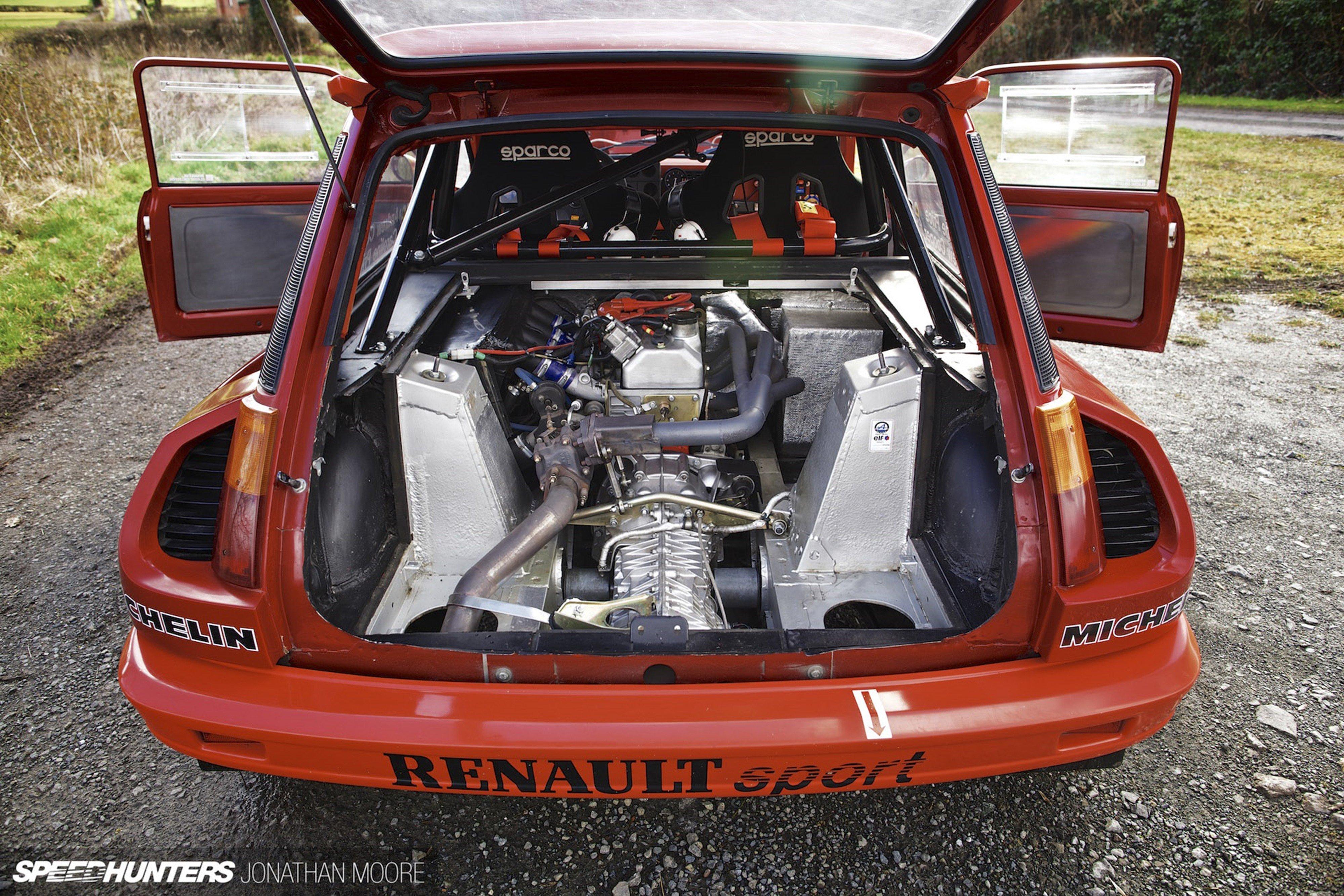 Rally Race Car Supercar Racing Classic Retro Renault 5