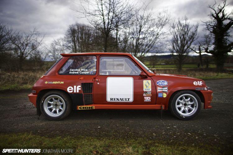 Rally Race Car Supercar Racing Classic Retro Renault-5 Turbo 4000x2667 Renault wallpaper