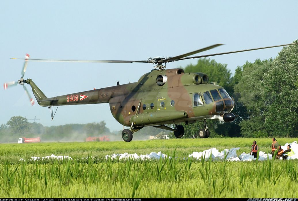helicopter aircraft Hungary military army Mil Mi-8T 4000x2707 wallpaper