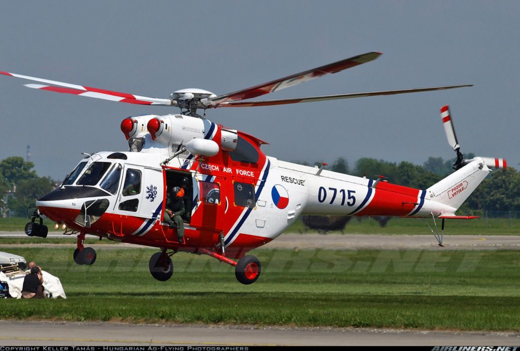 helicopter aircraft military Czech Republic - Air Force PZL-Swidnik W-3A Sokol 4000x2707 wallpaper