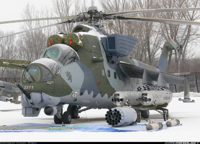 helicopter aircraft attack military army mil-mi Czech-Republic wallpaper