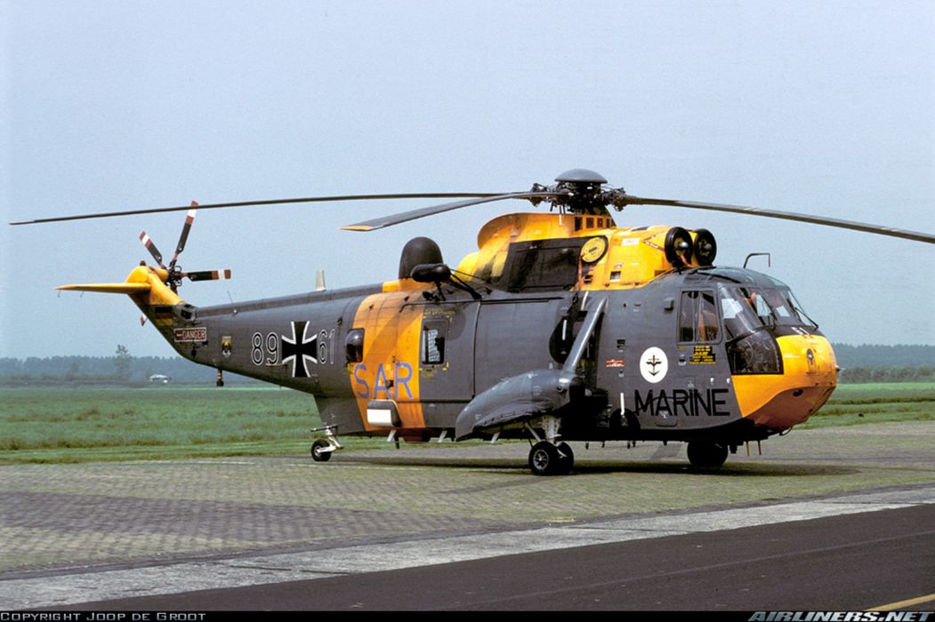 helicopter aircraft navy military Germany wallpaper