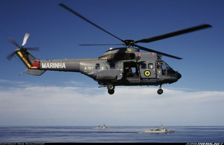 helicopter aircraft navy military Brazil wallpaper