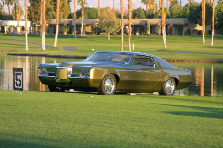 1969 Pontiac Grand Prix - custom Bill Mitchell tribute wallpaper