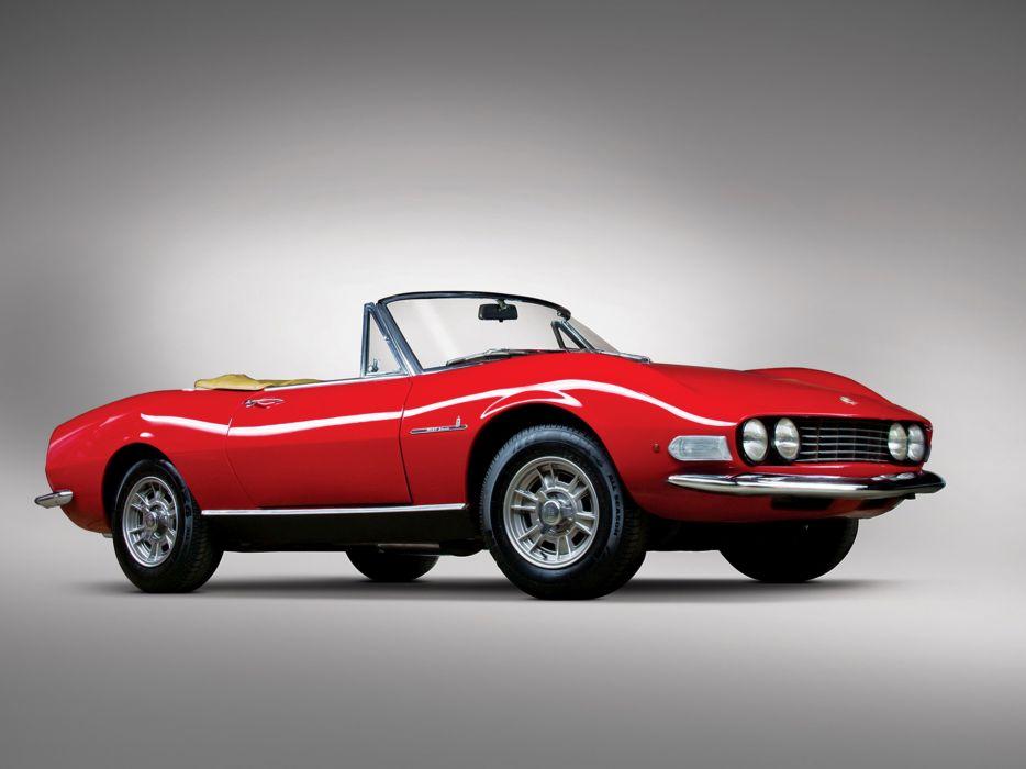 1966 Fiat Dino Spider Car Sport Classic 4000x3000 wallpaper