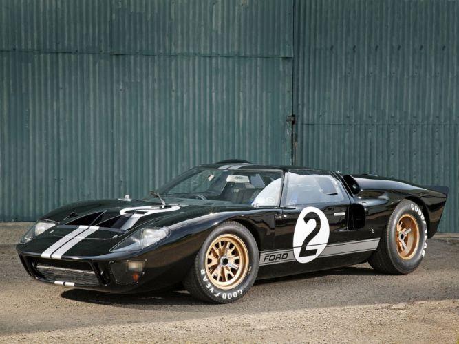 1966 Ford GT40 Le-Mans Racing Car Race Classic 4000x3000 wallpaper