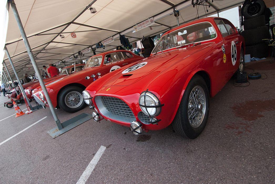 Race Car Supercar Racing Classic Retro 1952 Ferrari 225S 5 4000x2677 wallpaper