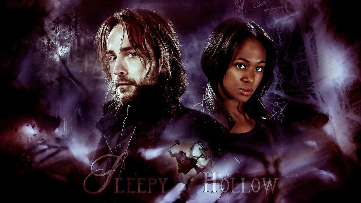 SLEEPY HOLLOW adventure drama fantasy horror series dark (37) wallpaper