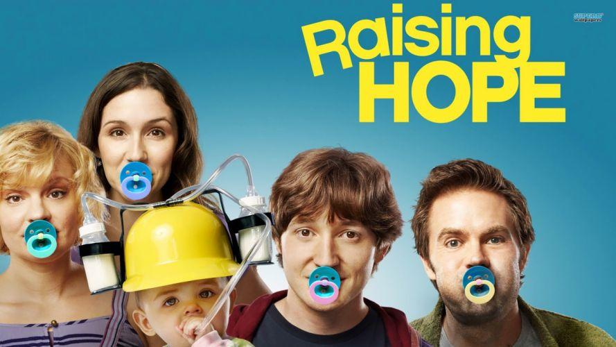 RAISING HOPE comedy drama family sitcom series (50) wallpaper