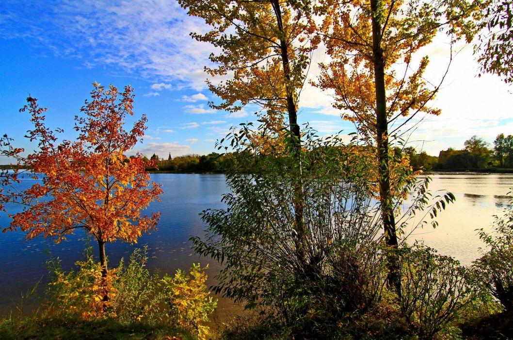 River Yaroslavl nature Russia wallpaper