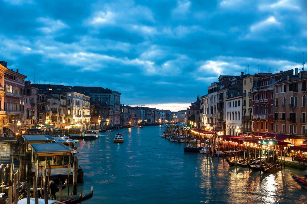 Venice Italy the city wallpaper