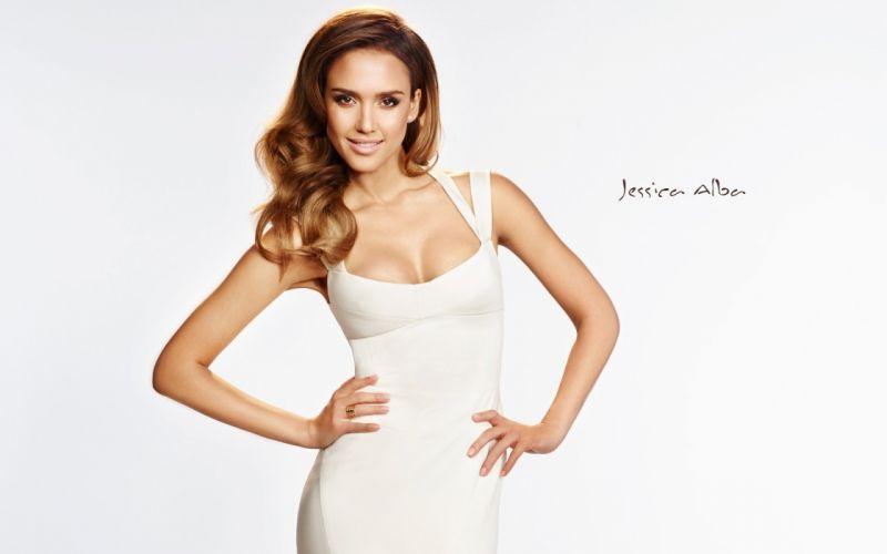 Jessica Alba actress model wallpaper