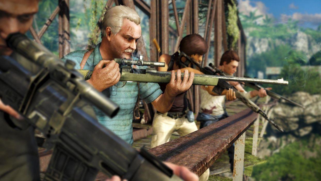 Far Cry 3 action weapon gun wallpaper