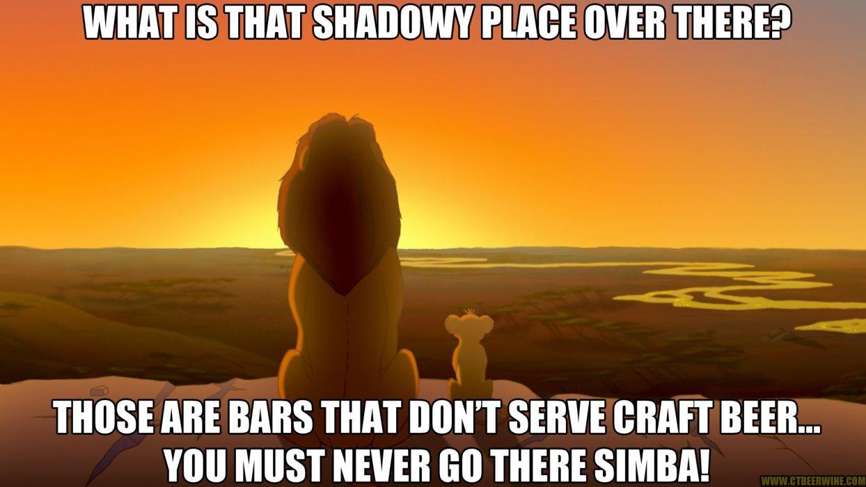 cat meme quote funny humor grumpy beer lion king disney wallpaper