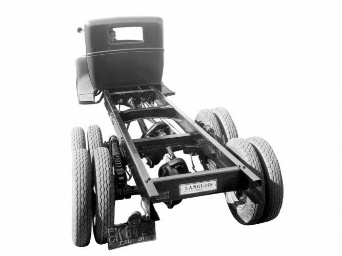 1930 Ford Model-AA 6-Wheel Tractor sermi retro e wallpaper
