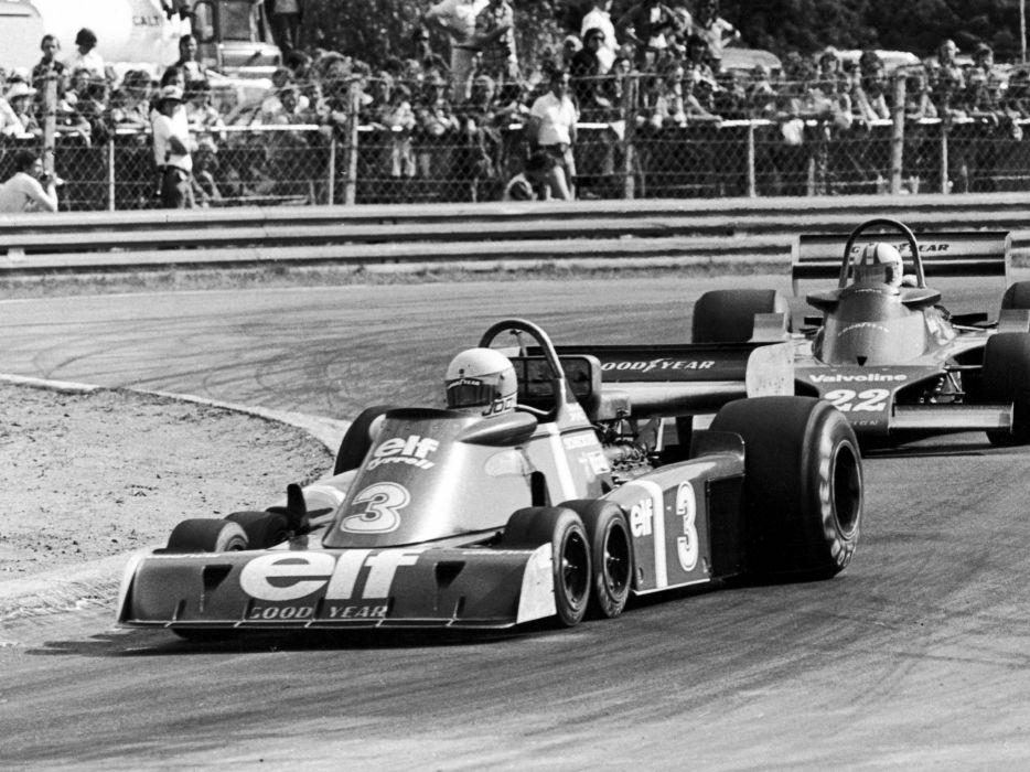 1976 Tyrrell P34 F-1 formula race racing  g wallpaper