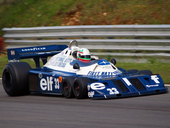 1976 Tyrrell P34 F-1 formula race racing f wallpaper