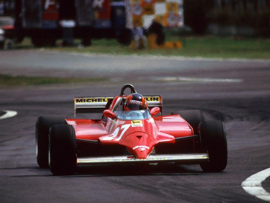 1981 Ferrari 126CK F-1 formula race racing  f wallpaper