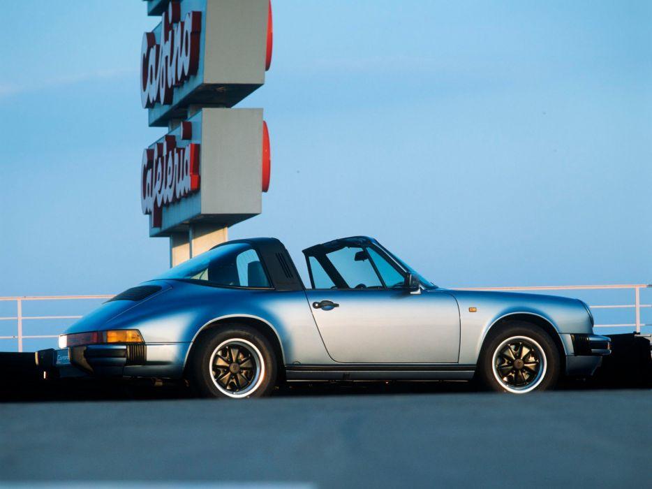1986 Porsche 911 Carrera 3_2 Targa      f wallpaper