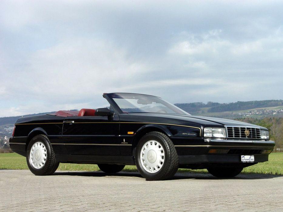 1987-93 Cadillac Allante EU-spec convertible luxury     h wallpaper