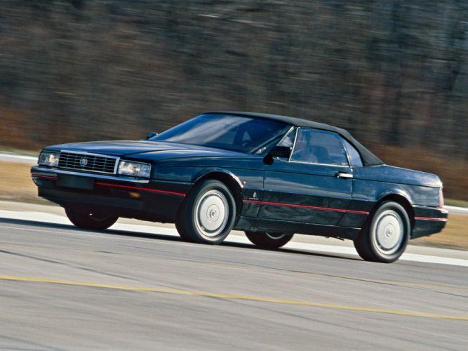 1987-93 Cadillac Allante EU-spec convertible luxury g wallpaper