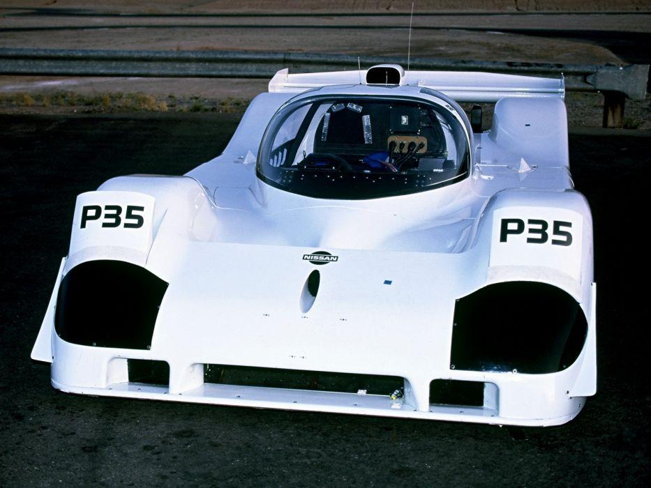 1991 Nissan P35 le-mans race racing      g wallpaper