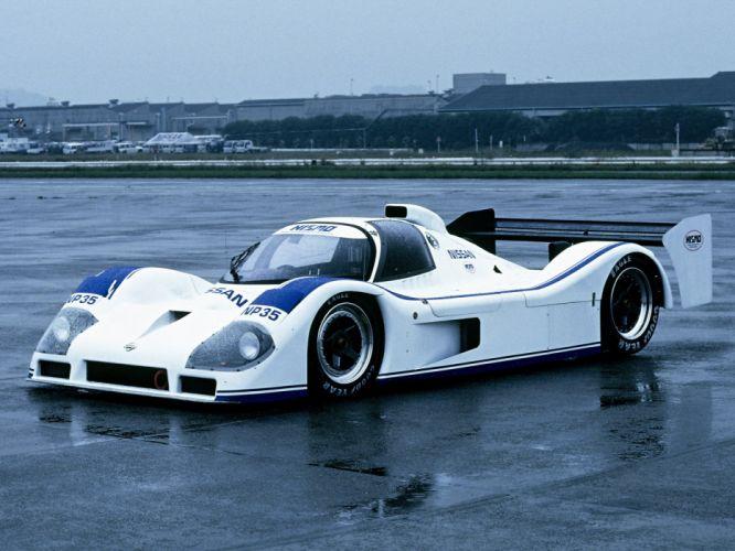 1991 Nissan P35 le-mans race racing f wallpaper