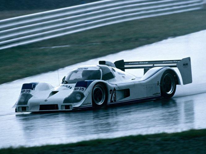 1991 Nissan P35 le-mans race racing e wallpaper