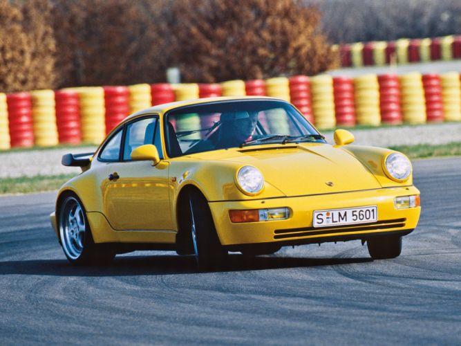 1992 Porsche 911 Turbo Coupe (964) g wallpaper