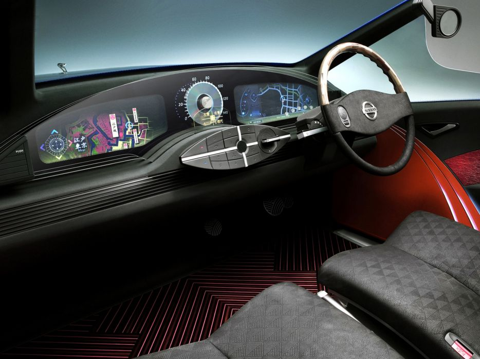 2003 Nissan Jikoo Concept interior   g wallpaper