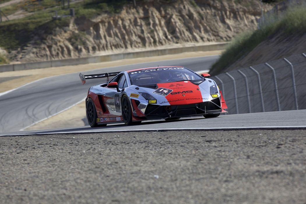 Race Car Supercar Racing Lamborghini Beverley Hills GMG Racing Lamborghini Gallardo LP570-4 Super Trofeo 4000x2667 wallpaper