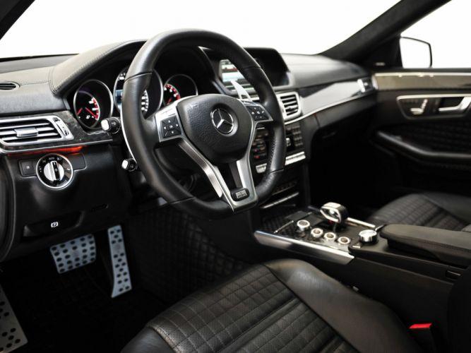 2014 BRABUS 850 Biturbo Mercedes Benz E63 AMG tuning luxury interior g wallpaper