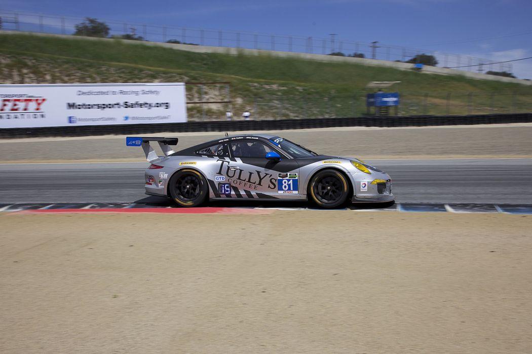 Race Car Supercar Racing GB-Autosport-Tully's Coffee Porsche 911 GT America 4000x2667 wallpaper