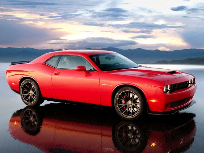 2015 Dodge Challenger SRT Supercharged (L-C) muscle x wallpaper